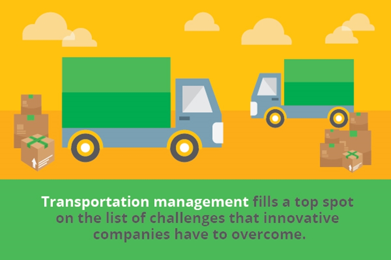 Transportation management solutions can help supply chain managers solve logistics problems.