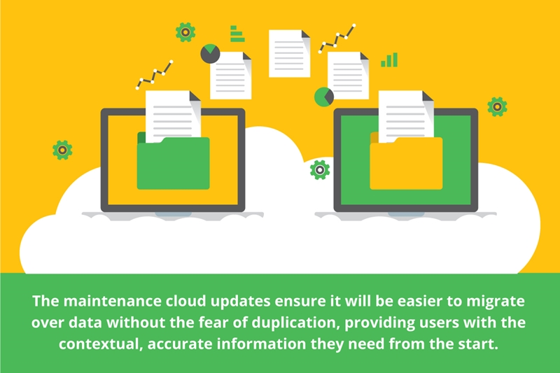 Maintenance cloud updates ensure it's easier to migrate processes.